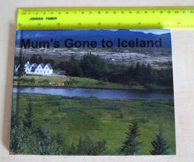 photobook by Pixum of Mum's Gone to Iceland
