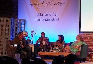 Travel panel at BritMums Live 2013