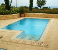 Private pool, Aphrodite hills