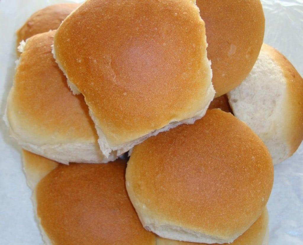 Pacey's bread rolls