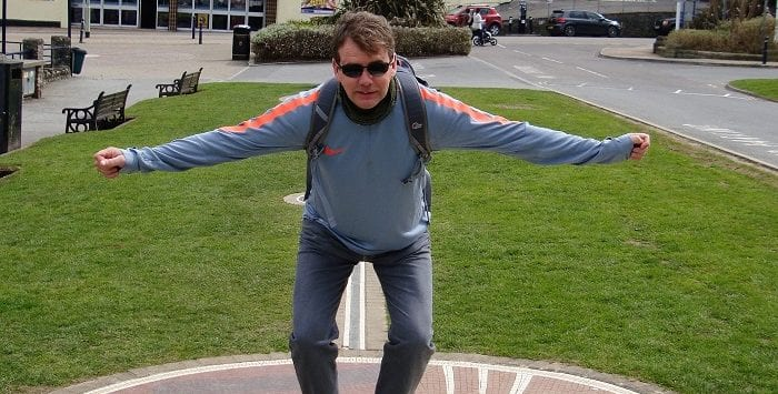 Jonathan Edwards long jump record in Ilfracombe