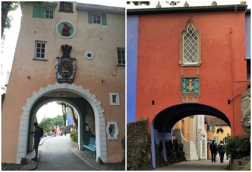 Portmeirion archways
