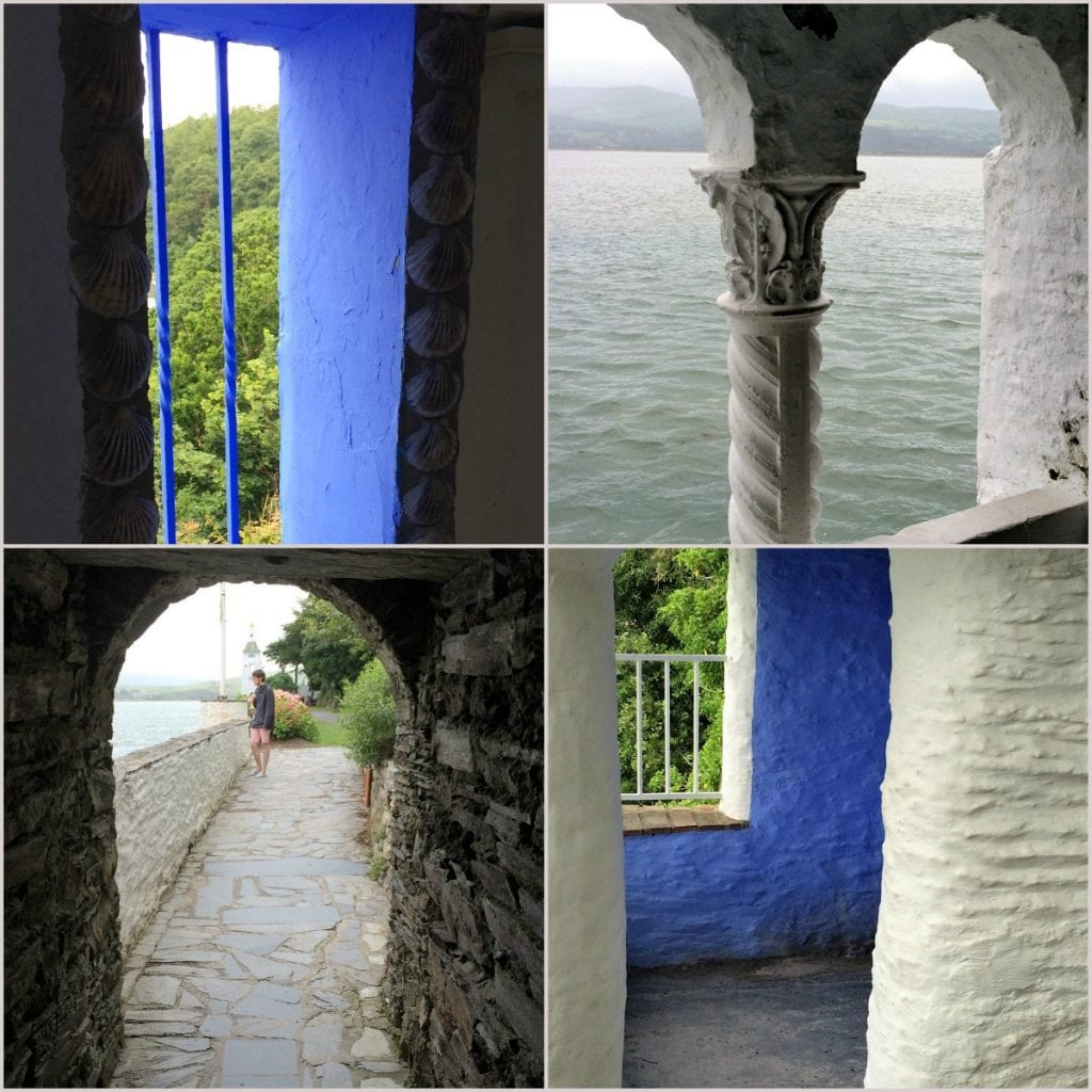 archways and windows in Portmeirion