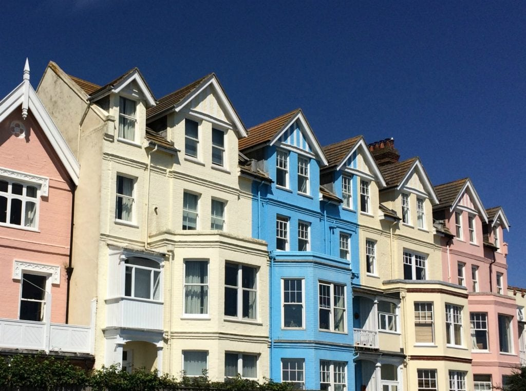 Aldeburgh coloured house Suffolk