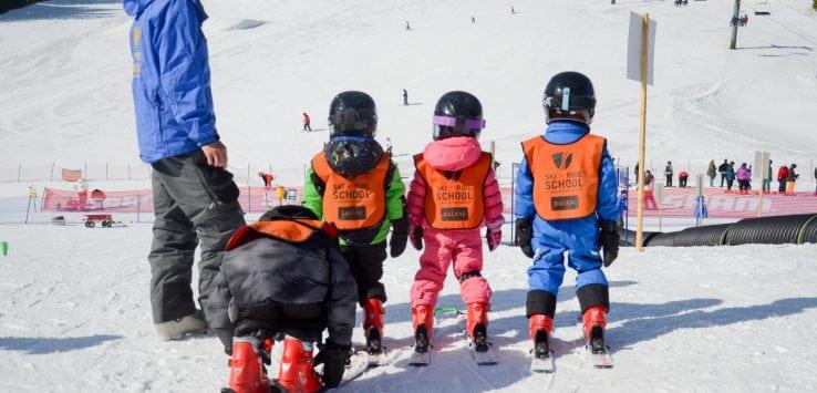 Kids ski school Winter Park
