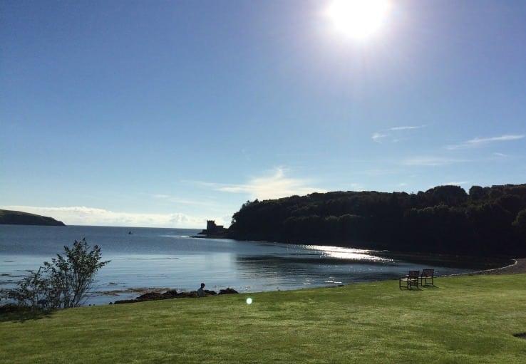 View Balcary Bay morning