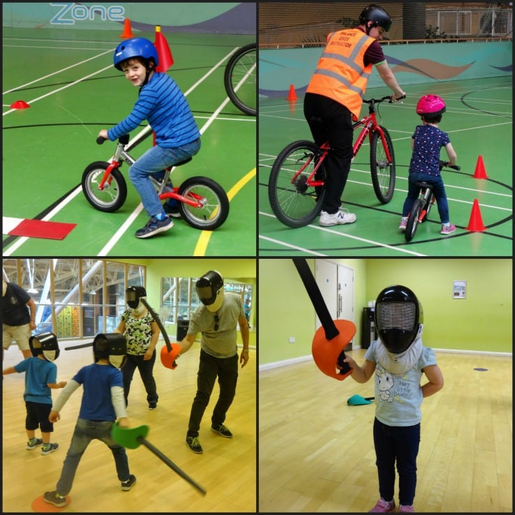 Center parcs activities