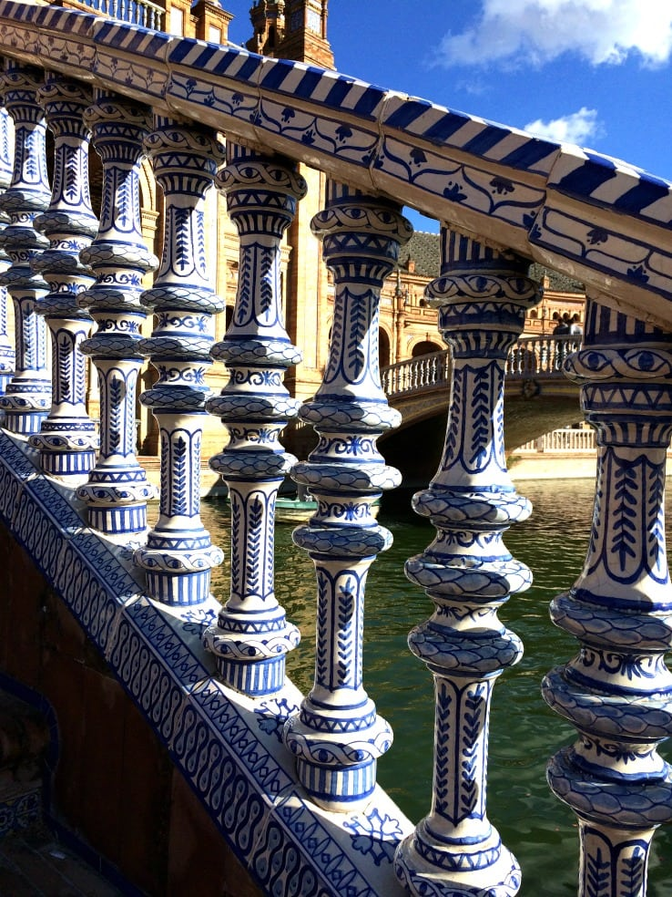 Bridge plaza de Espana seville
