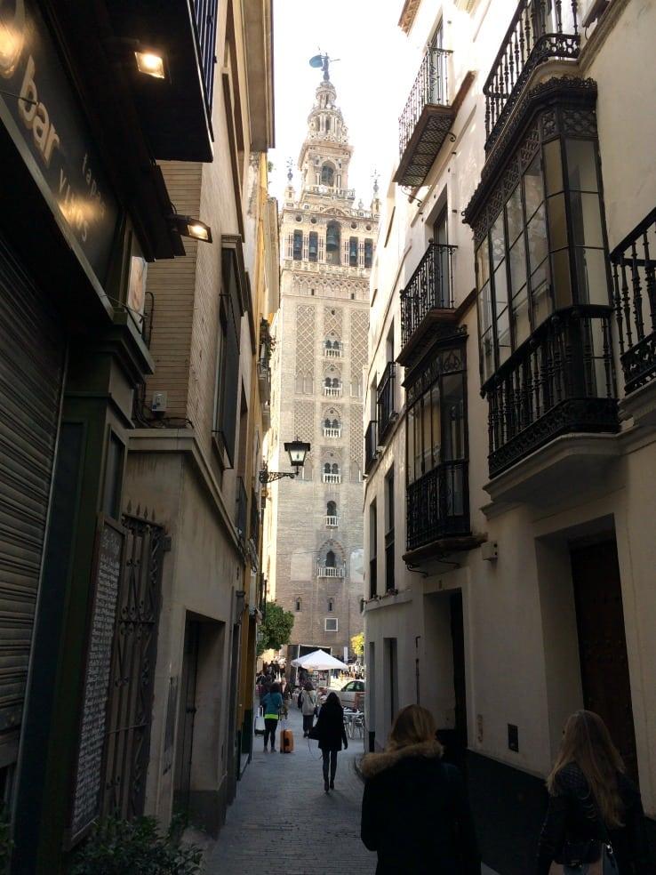 La Giralda bell tower Seville