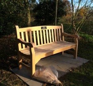 Shot at dawn bench Hipkin