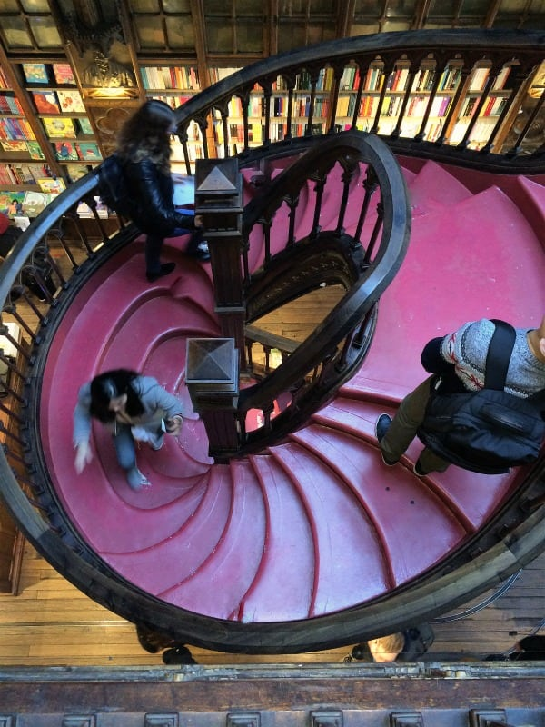 Livraria Lello stairs - touched up