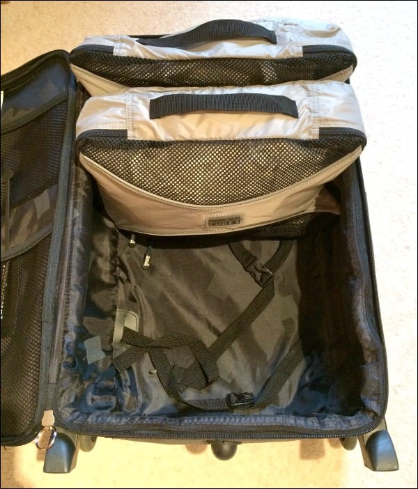 pro packing cubes upright