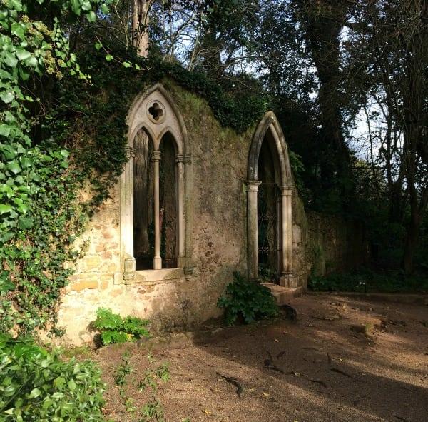 Quinta das lagrimas garden