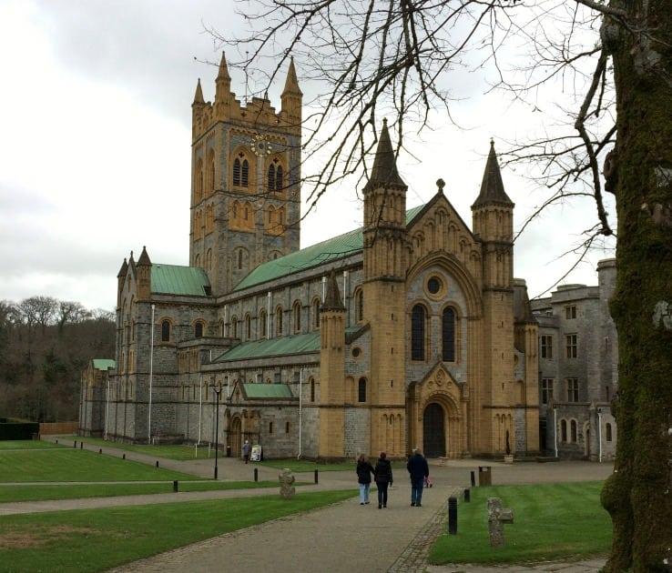 Buckfast abbey exterior