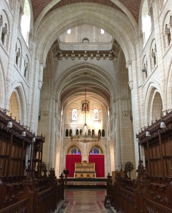 Buckfast Abbey interior