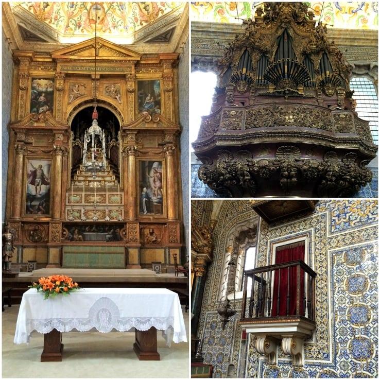 St Michael's chapel, Coimbra University