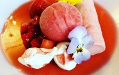 Strawberries, Blackaddie hotel