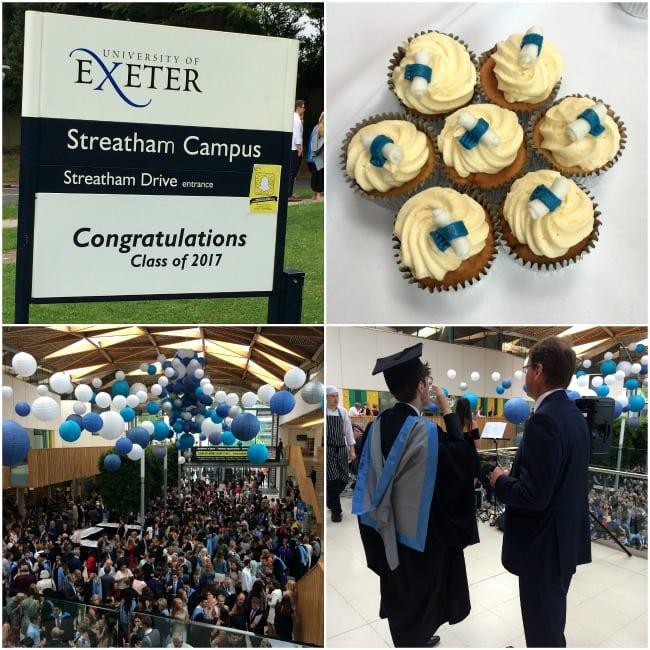 Exeter University graduation 2017