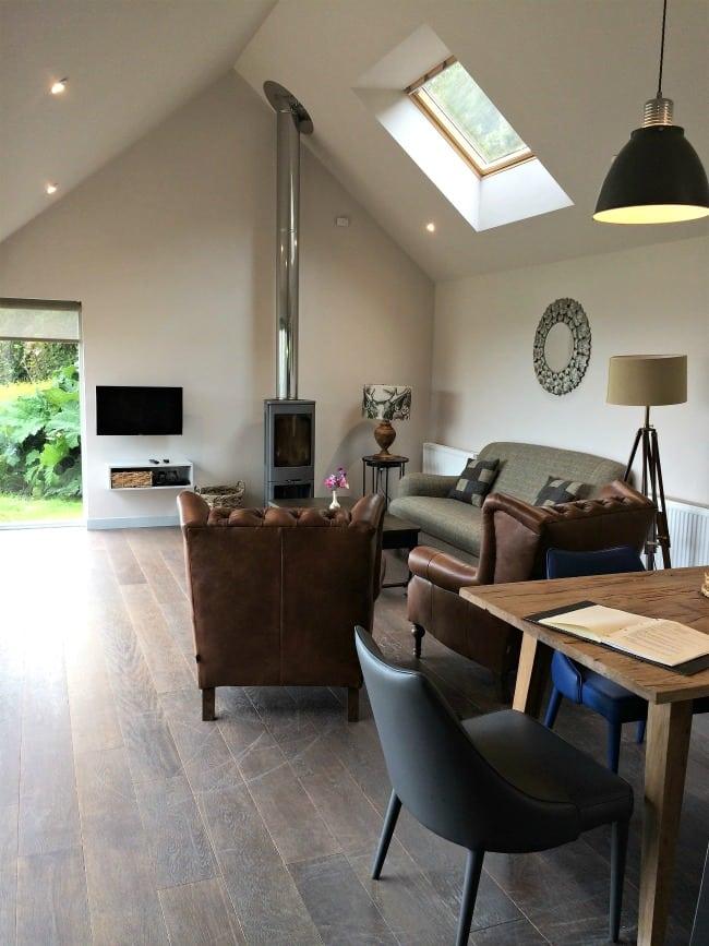 Living room Shingle Lodge Knockinaam