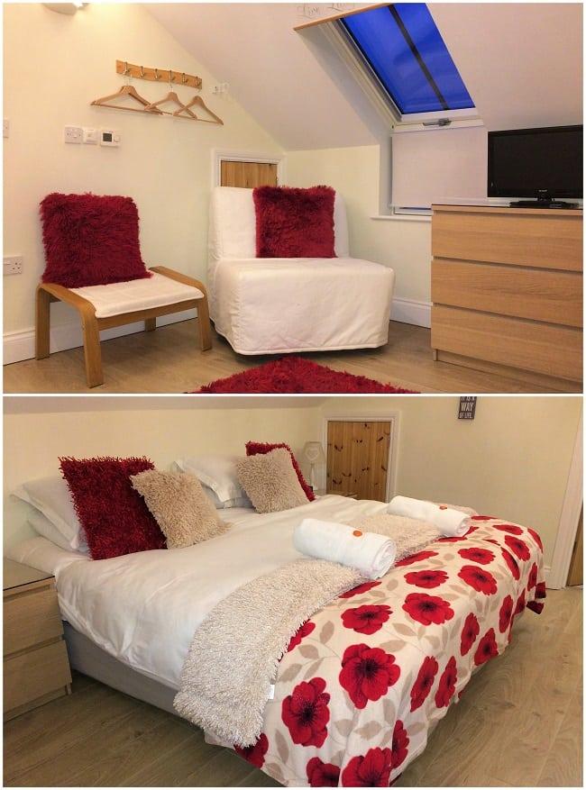 Mollett's Farm cottage bedroom