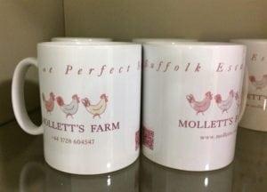 Mollett's Farm mugs