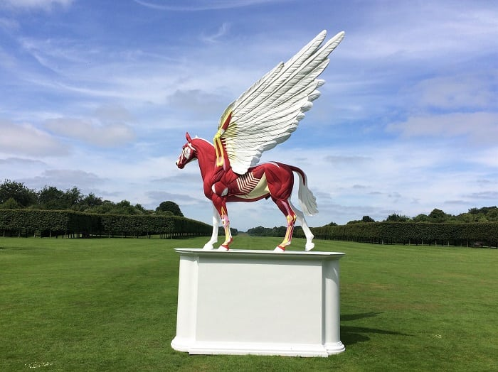 Legend by Damien Hirst at Houghton Hall