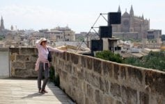 ON the rooftops of Palma Mallorca