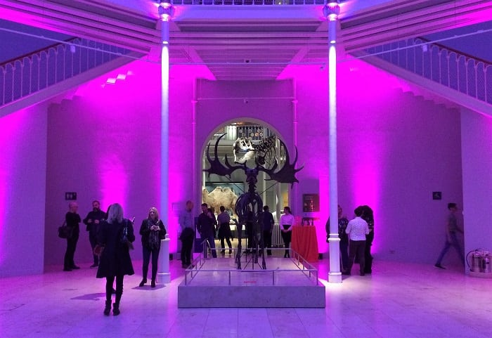 Grand Gallery of National Museum of Scotland Edinburgh Fringe