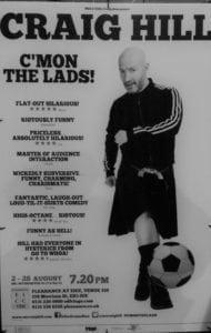 Craig Hill poster Edinburgh Fringe