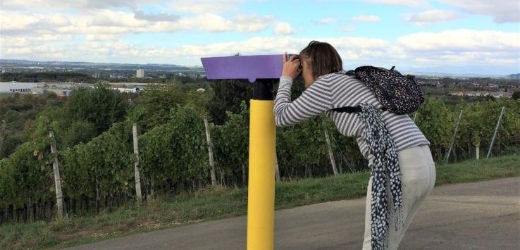 binoculars on 24 stops rehberger weg
