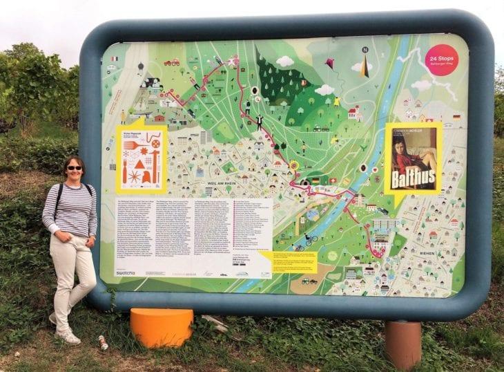 map of 24 stops rehberger weg