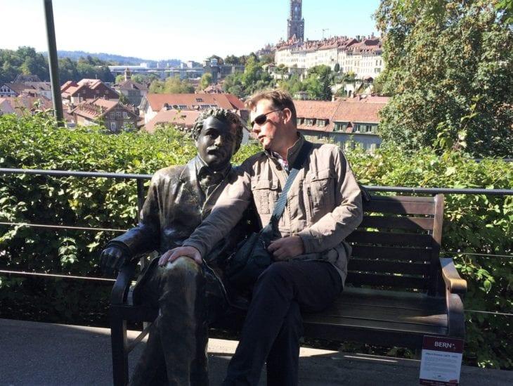 Einstein bench, Bern