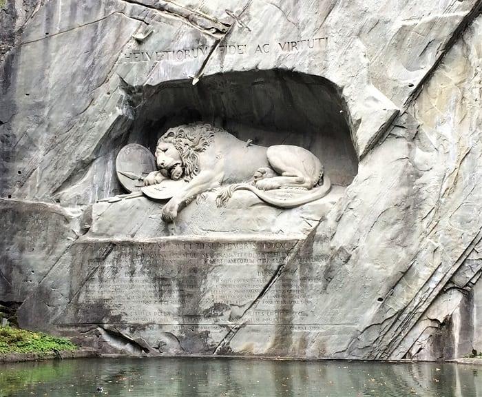 Lion monumnent, Lucerne, Switzerland