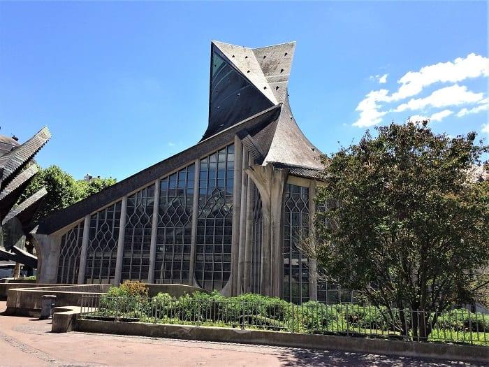 St JOan of Arc church, Rouen