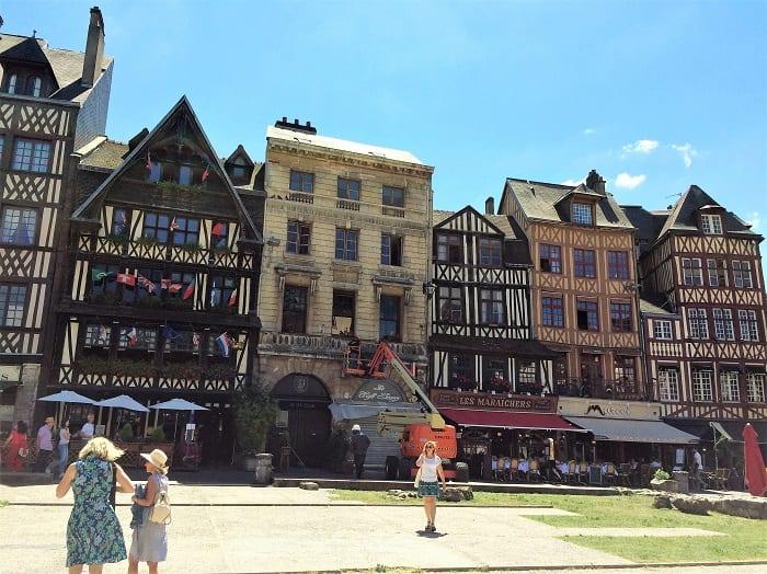 Place du Vieux-Marche, Rouen