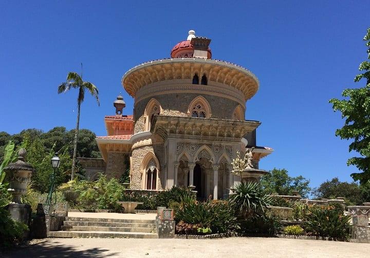 Exterir MOnserrate palace, Sintra