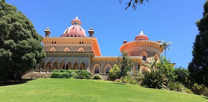 Monserrate palace in Sintra