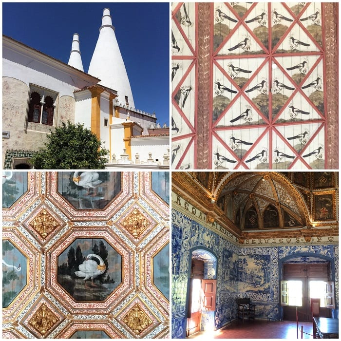 National Palace of Sintra architecture and decoration