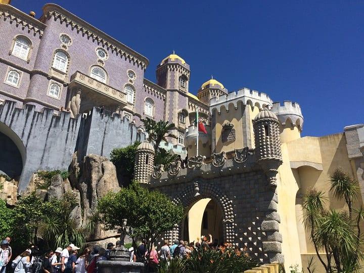 Pena Palace exterior, Sintra