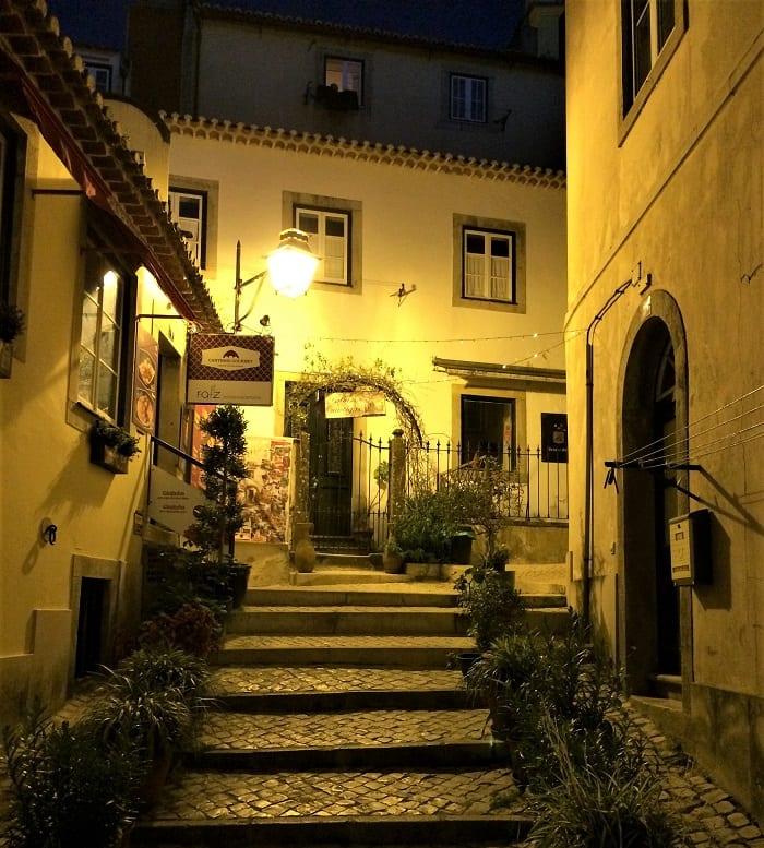 Sintra at night