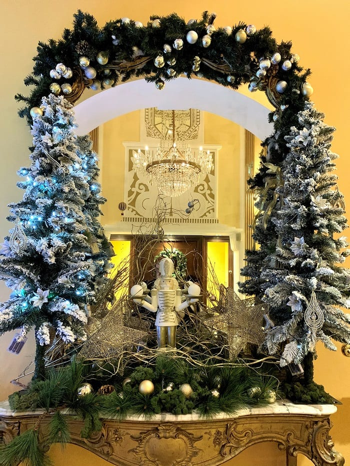 Christmas decorations, Imperial Hotel, Cork
