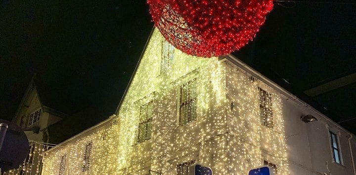 Christmas lights in Cork
