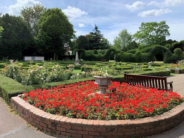 Peace garden, Ayscoughfee Hall gardens