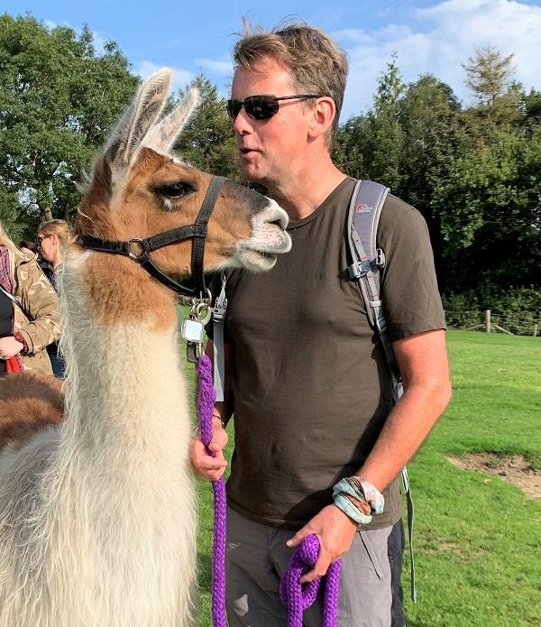 The llama whisperer